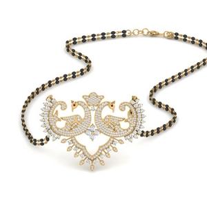 peacock-design-diamond-mangalsutra-in-MGS9723-NL-YG